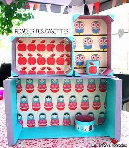 Recyclage Petite Cagette : diy recycler des cagettes cadeau inside deco cajas de fruta cajas et cajas decoradas ~ Nature-et-papiers.com Idées de Décoration