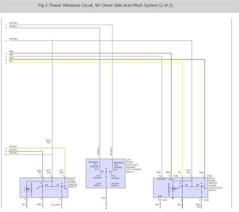 window fuse location  power windows  locks stopped