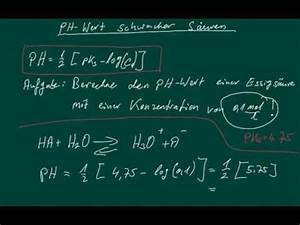 Ph Wert äquivalenzpunkt Berechnen : ph wert schwacher s uren berechnen youtube ~ Themetempest.com Abrechnung