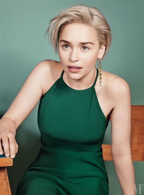 Emilia Clarke On Vanity Fair :「スター・ウォーズ」の最新作「ソロ」のヒロイン、エミリア ...