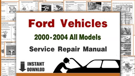 ford lincoln  models service repair manuals