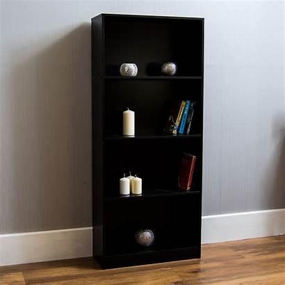 Bookcase Tier Furniture Cambridge Shelving Display Wood