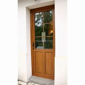 materiaux porte entree acier bois pvc alu composite With porte d entrée pvc avec materiaux salle de bain