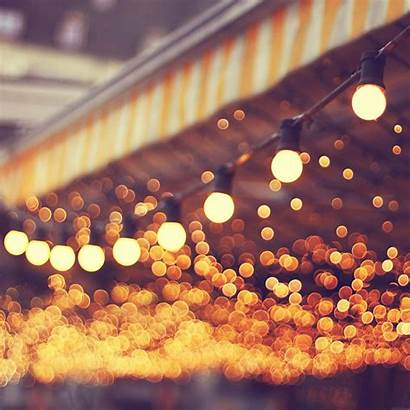 Wallpapers Iphone Romantic Bokeh Street Bulbs Ipad