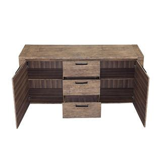 Oxford Sideboard by Oxford Creek Fulton Weathered Walnut Finish Sideboard