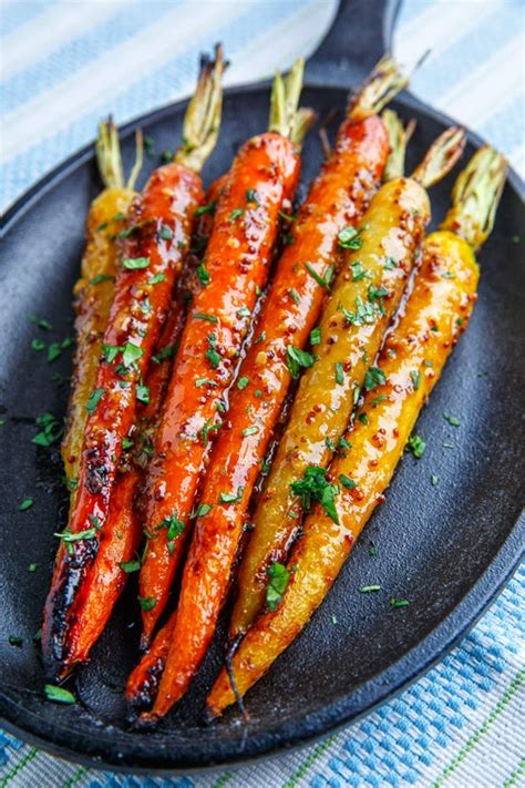 roasted carrots maple dijon roasted carrots on closet cooking