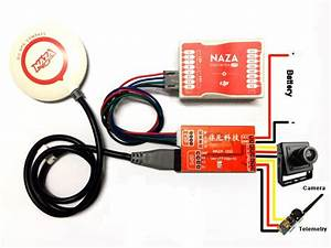 Fpv Flight Controller N1 Osd Module For Dji Naza V1 V2
