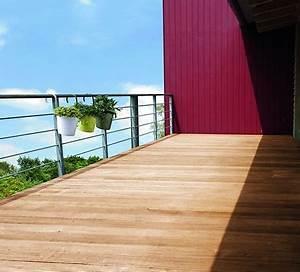 Blumenkasten Holz Balkon : holz berdachung terrasse ~ Orissabook.com Haus und Dekorationen