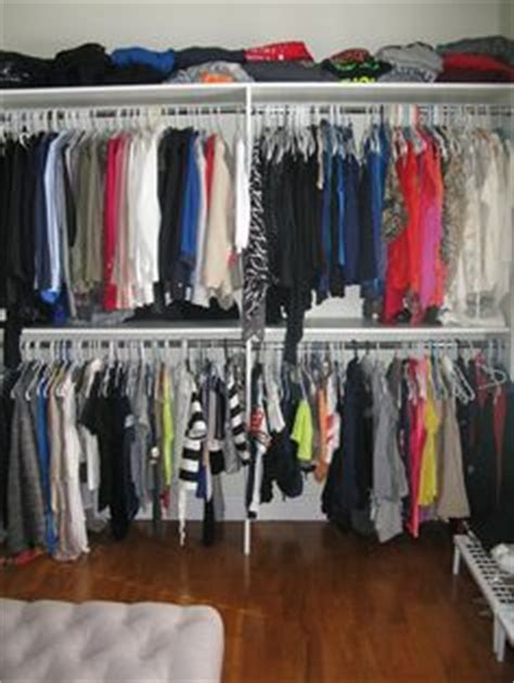 bedroom turned into walk in closet this is what i