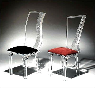 acrylic ghost chair clear dining chair with seat cushion
