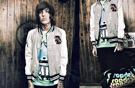bring me the horizon s sykes to open drop dead clothing shop stereoboard