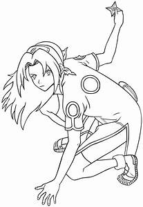 Sakura Haruno Lineart By Sugarcoatedlollipops On Deviantart