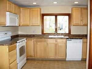 kitchen remodeling on a budget mybktouchcom With small kitchen design ideas budget