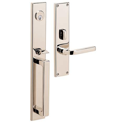 front door handleset baldwin estate 6976 minneapolis mortise handleset low