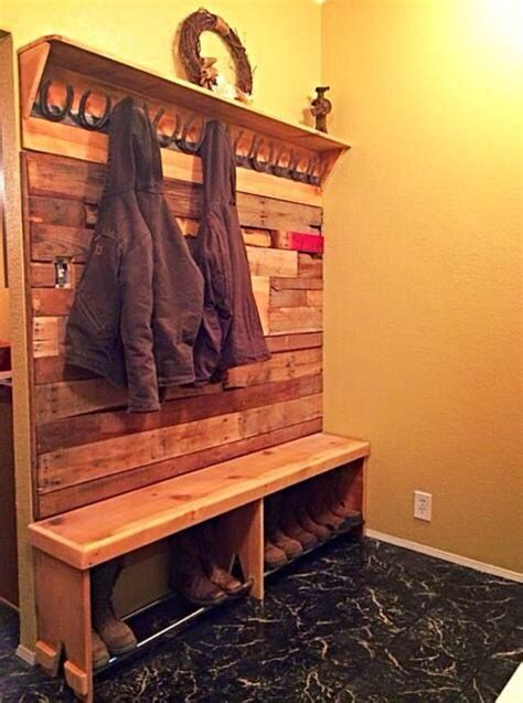 boot bench coat rack woodworking projects plans