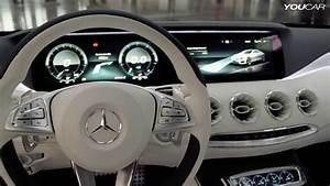 Mercedes S-class Coupe Concept Interior