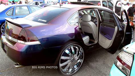 chevy impala  dub floaters big rims custom wheels