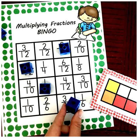 heres  multiplying fractions game  perfect