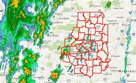 Tornadoes High Winds Rip Through Parts Of Arkansas Nwadg