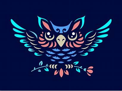Symbol Owl Elemental Element Eps