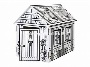 Cabane En Carton À Colorier : les 63 meilleures images du tableau on fait une cabane sur pinterest chambre enfant cabanes ~ Melissatoandfro.com Idées de Décoration