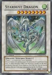 yugioh stardust dragon dp08 en014 super rare 1st