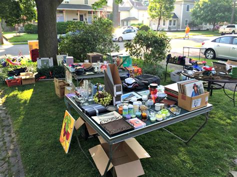 Yard Furniture Sale by Hosting A Yard Sale A How To Guide J Brkich