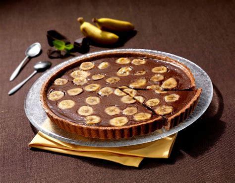 tarte a la banane pate feuilletee tarte rapide banane et chocolat ma cuisine en