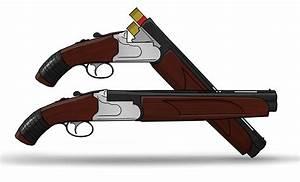 Image Gallery over under sawed off shotgun