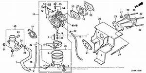 Honda Engines Gx360k1 Dd2 Engine  Jpn  Vin  Ga01