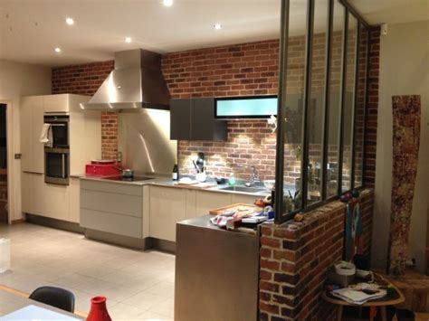 cuisine style loft cuisine dans loft yorkais