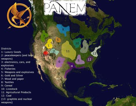 map  panem hunger games  guido  deviantart