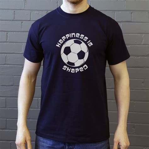 football tshirt designs happiness is football shaped t shirt from redmolotov
