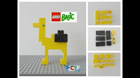 Lego Easy Tutorial How To Build Camel Animals Lego Basic