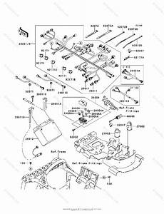 Kawasaki Atv 2009 Oem Parts Diagram For Chassis Electrical