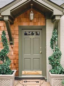 Sage, Green, Front, Door