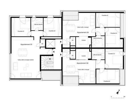 harmonious house plans layout gallery of 7 units housing building metaform