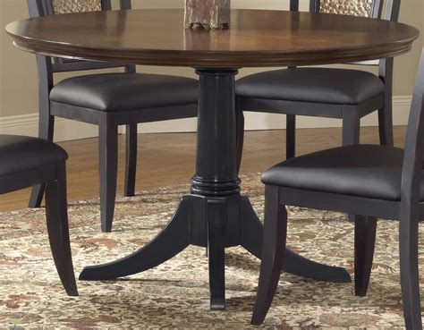 hillsdale furniture norwood 48 inch pedestal dining table