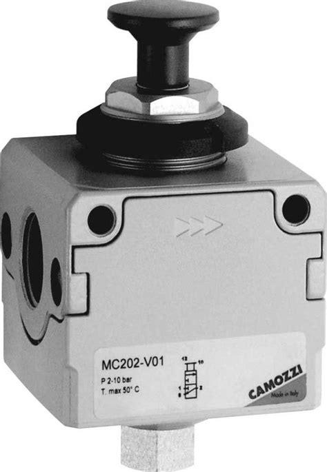 Series MC Lockable Isolation 3-Way Valve - Camozzi