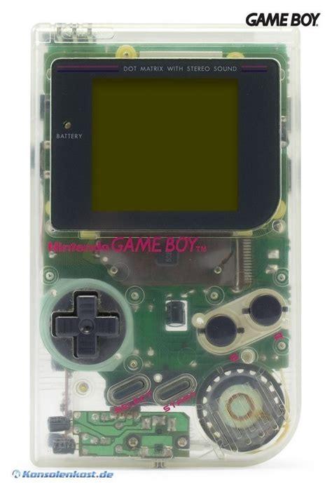 gameboy color value gameboy konsole transparent hip boy grau classic 1989