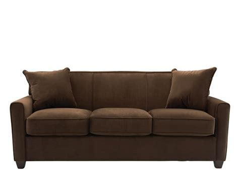 raymour and flanigan brown sofa bed microfiber sofa sofas raymour and flanigan