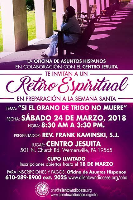 Hispanic Ministry Spiritual Retreat (Spanish) | Roman