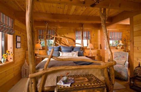 chambre interiors 15 chambres de caractère à l aide d un lit rustique