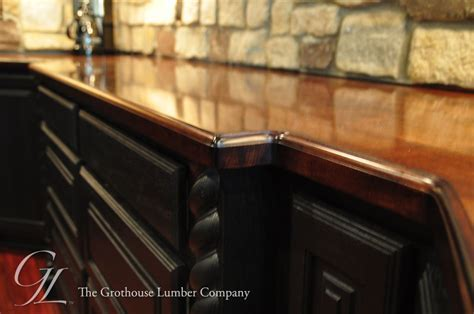 Maple Wood Bar Top in Churchville, Maryland by Grothouse