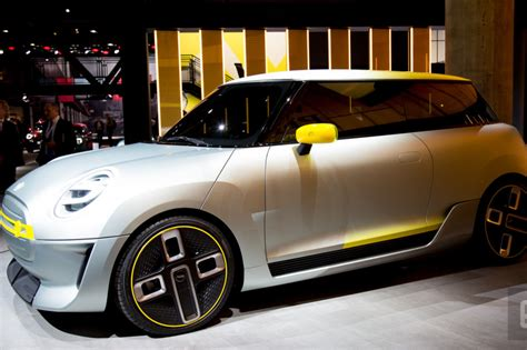 Mini Shows Off Its Pureelectric Concept Car