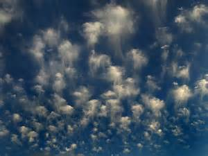Altocumulus Cloud Formation