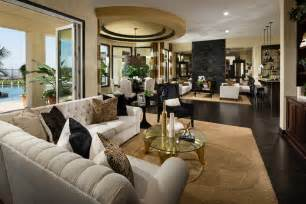 Family Room Entertainment Center Ideas by Toll Brothers At Amalfi Hills Positano Collection
