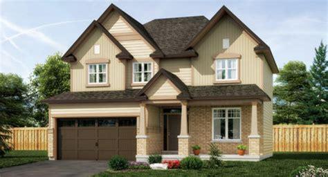 2 open floor plans tartan ottawa home builder