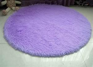 Round purple rugs roselawnlutheran for Light purple carpet