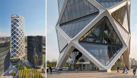 soms diagrid glass tower rises   chinese paper